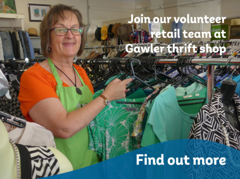 AWL Website Home page card carousel Retail assistant at Gawler